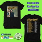 CONCERT 2018 SUGARLAND STILL THE SAME N.AMERICA BLACK TEE DATES CODE EP01