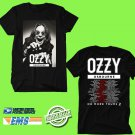 CONCERT 2018 OZZY OSBOURNE NO MORE TOURS 2 N.AMERICA BLACK TEE DATES CODE EP02