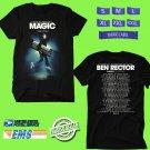 CONCERT 2018 BEN RECTOR THE MAGIC USA TOUR BLACK TEE DATES CODE EP01