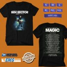CONCERT 2018 BEN RECTOR THE MAGIC USA TOUR BLACK TEE DATES CODE EP02