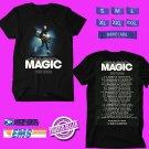 CONCERT 2018 BEN RECTOR THE MAGIC USA TOUR BLACK TEE DATES CODE EP03