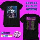 CONCERT 2018 OZUNA AURA ON USA TOUR BLACK TEE DATES CODE EP02