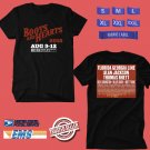 CONCERT 2018 BOOTS&HEARTS MUSIC FESTIVAL AUGUSTUS BLACK TEE DATES CODE EP01
