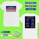 CONCERT 2018 GREAT SOUTH BAY MUSIC FESTIVAL JULY WHITE TEE DATES CODE EP01