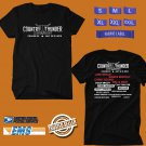 CONCERT 2018 COUNTRY THUNDER CRAVEN SK MUSIC FESTIVAL JULY BLACK TEE DATES CODE EP01