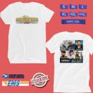 CONCERT 2018 MOUNTAIN HOME COUNTRY MUSIC FESTIVAL JULY WHITE TEE DATES CODE EP01