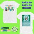 CONCERT 2018 RIVER FEST MUSIC FESTIVAL AUGUST WHITE TEE DATES CODE EP01