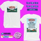 CONCERT 2018 ROCKIN RIVER FEST MUSIC FESTIVAL AUGUST WHITE TEE DATES CODE EP01