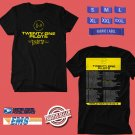 CONCERT 2018 TWENTY ONE PILOTS THE BANDITO WORLD TOUR BLACK TEE DATES CODE EP01