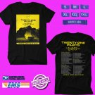 CONCERT 2018 TWENTY ONE PILOTS THE BANDITO WORLD TOUR BLACK TEE DATES CODE EP03