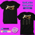 CONCERT 2018 JESSIE J THE ROSE TOUR BLACK TEE DATES CODE EP01