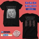 CONCERT 2018 CHRISTINA AGUILERA LIBERATION TOUR BLACK TEE DATES CODE EP02
