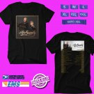 CONCERT 2018 AIR SUPPLY FALL TOUR BLACK TEE DATES CODE EP01