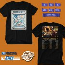CONCERT 2018 THE DECEMBERISTS YOUR GIRL/YOUR GHOST TOUR BLACK TEE DATES CODE EP01