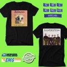 CONCERT 2018 SILVERSTEIN 15TH ANNIVERSARY TOUR BLACK TEE DATES CODE EP02