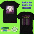 CONCERT 2019 CARRIE UNDERWOOD CRY PRETTY 360 TOUR BLACK TEE DATES CODE EP01