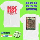 CONCERT 2018 RIOT SEPT FEST WHITE TEE DATES CODE EP01