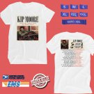 CONCERT 2018 KIP MOORE AFTER THE SUNBURN WHITE TEE DATES CODE EP01