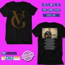 CONCERT 2018 VINCE GILL USA FALL TOUR BLACK TEE DATES CODE EP01