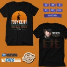 CONCERT 2018 TOBY KEITH SHOULDVE BEEN COWBOY XXV TOUR BLACK TEE DATES CODE EP01