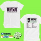 CONCERT 2018 TOBY MAC THE THEATRE TOUR WHITE TEE DATES CODE EP01