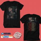 CONCERT 2018 MAXWELL 50 INTIMATE NIGHTS LIVE TOUR BLACK TEE DATES CODE EP02