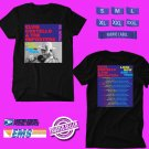 CONCERT 2018 ELVIS COSTELLO LOOK NOW & THEN BLACK TEE DATES CODE EP01