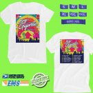 CONCERT 2018 BIG GIGANTIC WITH FLAMINGOSIS FALL TOUR WHITE TEE DATES CODE EP01