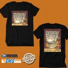 CONCERT 2018 SLIGHTLY STOOPID JUST PASSING THROUGH FALL USA TOUR BLACK TEE DATES CODE EP01