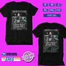 CONCERT 2018 DAVID ELLEFSON BASSTORY UNITED KINGDOM TOUR BLACK TEE DATES CODE EP02