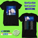 CONCERT 2019 CHER HERE WE GO AGAIN TOUR BLACK TEE DATES CODE EP01
