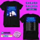 CONCERT 2019 CHER HERE WE GO AGAIN TOUR BLACK TEE DATES CODE EP02