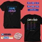 CONCERT 2018 SAN HOLO ALBUM 1 TOUR BLACK TEE DATES CODE EP02