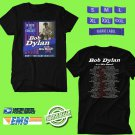 CONCERT 2018 BOB DYLAN FALL TOUR BLACK TEE DATES CODE EP01