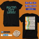 CONCERT 2018 AUSTIN CITY LIMIT ZILKER PARK FESTIVAL BLACK TEE DATES CODE EP01