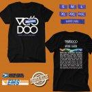 CONCERT 2018 VOODOO MUSIC FESTIVAL BLACK TEE DATES CODE EP03