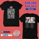 CONCERT 2018-2019 BAYSIDE FULL BAND ACOUSTIC TOUR BLACK TEE DATES CODE EP02