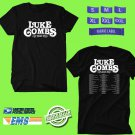 CONCERT 2019 LUKE COMBS BEER NEVER BROKE MY HEART TOUR BLACK TEE DATES CODE EP01