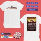 CONCERT 2018 AFTERSHOCK MUSIC FESTIVAL WHITE TEE DATES CODE EP01