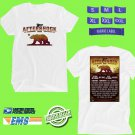 CONCERT 2018 AFTERSHOCK MUSIC FESTIVAL WHITE TEE DATES CODE EP02