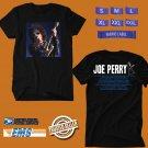 CONCERT 2018 JOE PERRY SOLO USA TOUR BLACK TEE DATES CODE EP01