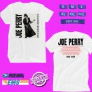 CONCERT 2018 JOE PERRY SOLO USA TOUR WHITE TEE DATES CODE EP02