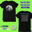 CONCERT 2018 THE BAND PERRY COORDINATES TOUR BLACK TEE DATES CODE EP01