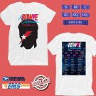 CONCERT 2019 A BOWIE CELEBRATION ALUMNI TOUR WHITE TEE DATES CODE EP01