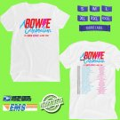 CONCERT 2019 A BOWIE CELEBRATION ALUMNI TOUR WHITE TEE DATES CODE EP02