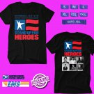 CONCERT 2018 STAND UP FOR HEROES SHOW BLACK TEE DATES CODE EP02