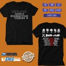 CONCERT 2018 BAND MAID WORLD DOMINATION TOUR BLACK TEE DATES CODE EP02