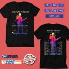 CONCERT 2018 STEVEN WILSON TO THE BONE TOUR BLACK TEE DATES CODE EP01