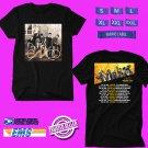 CONCERT 2019 CNCO USA LEG'S WORLD TOUR BLACK TEE DATES CODE EP01