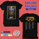 CONCERT 2019 ALABAMA 50TH ANNIVERSARY TOUR BLACK TEE DATES CODE EP02